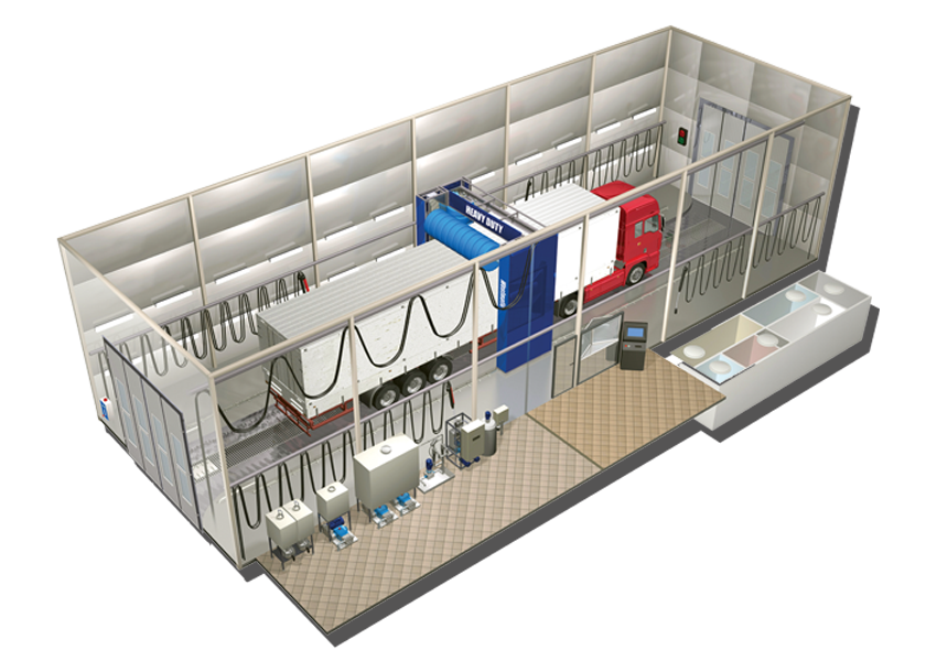 Truck Wash Building Design