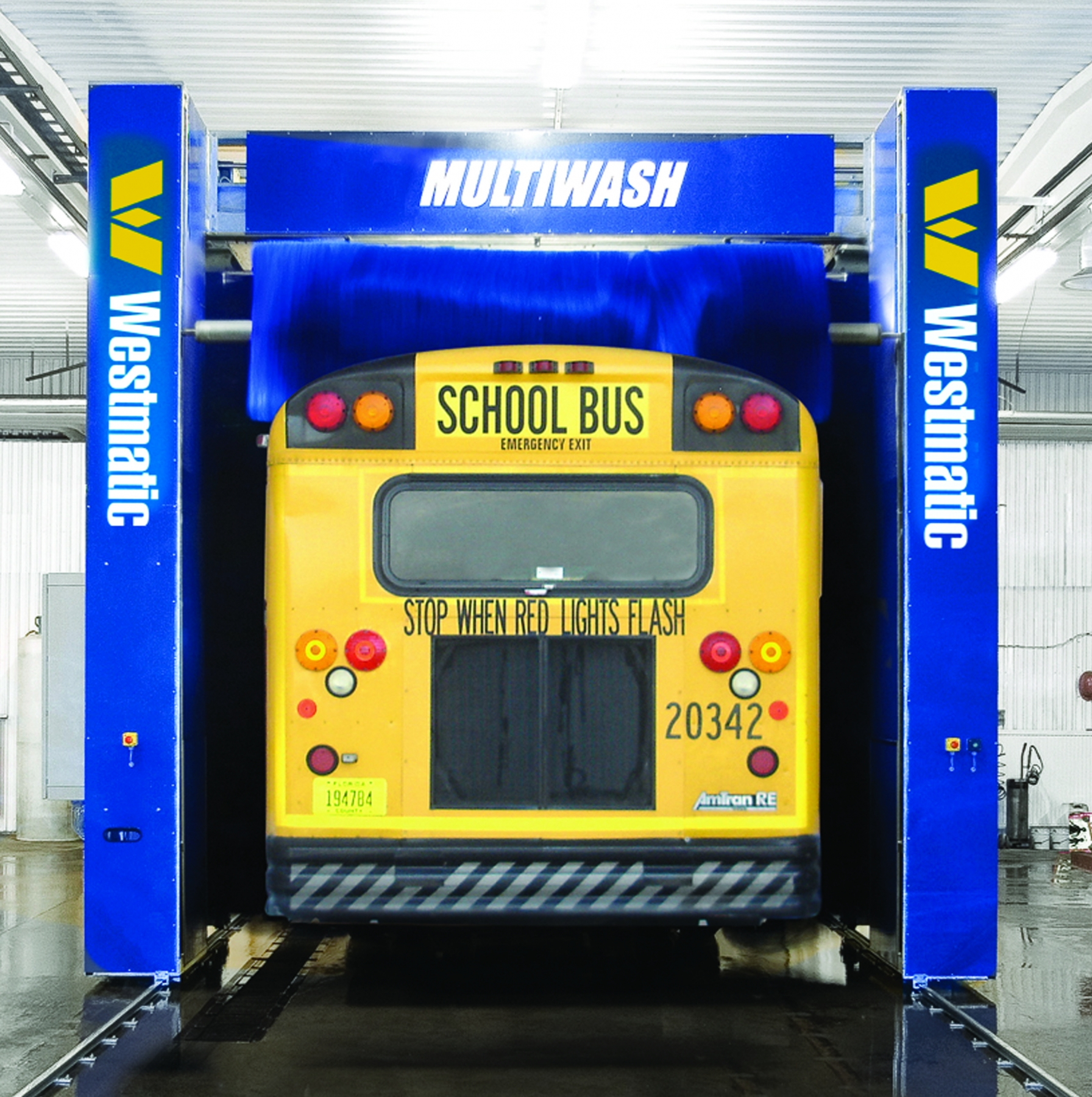 School Bus Washing Equipment