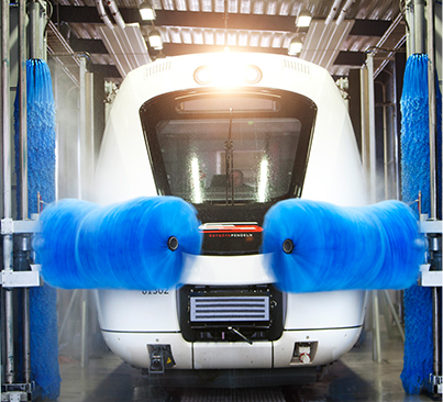 Train Wash Systems